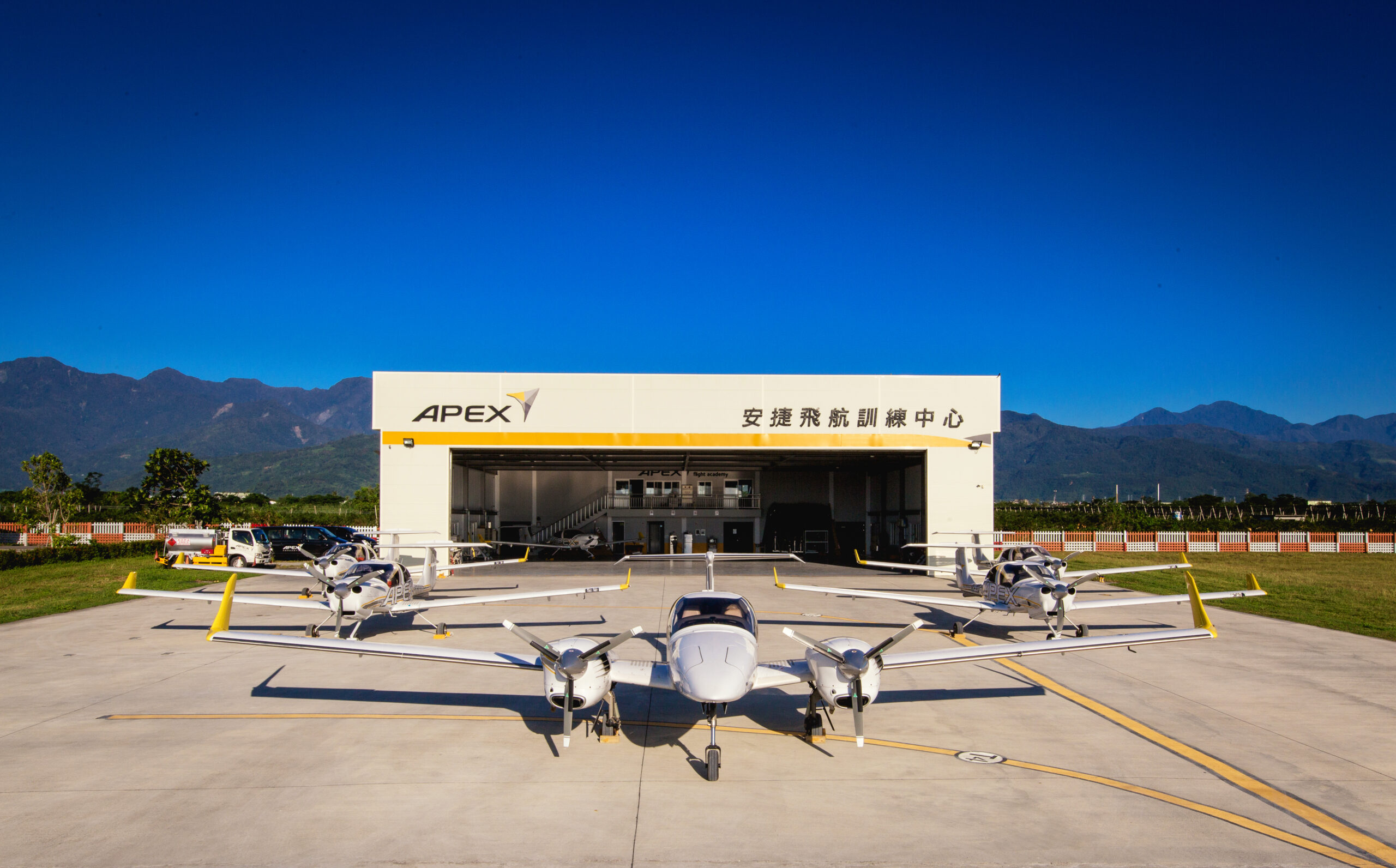 Fleets, Hangar And Apron