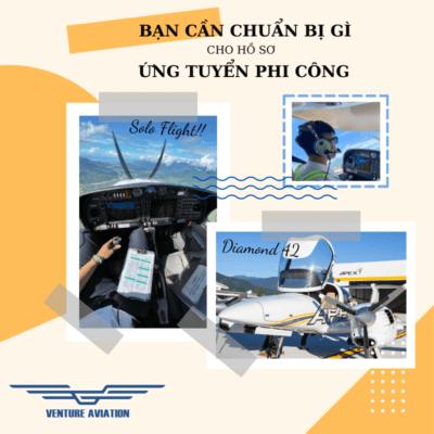 hồ sơ ứng tuyển phi công